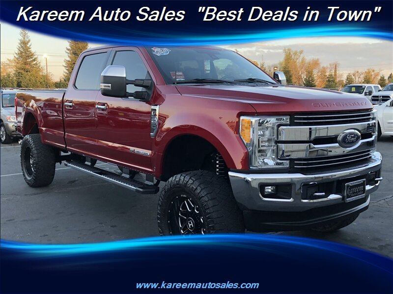 Pre-Owned 2017 Ford Super Duty F-350 SRW Super Duty Lariat