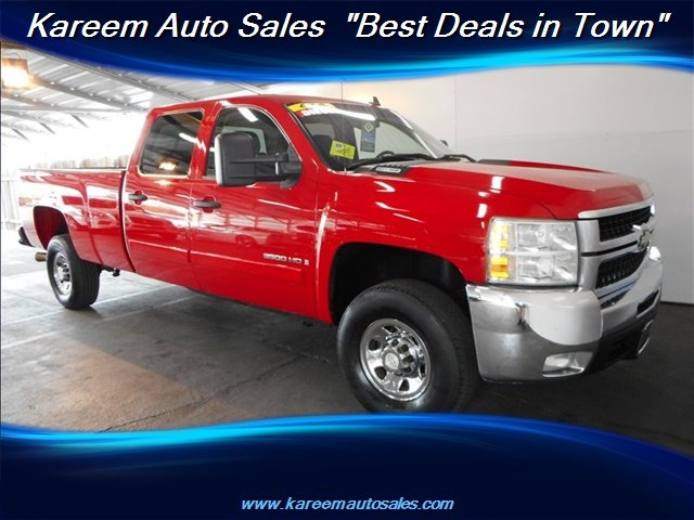 Pre-Owned 2008 Chevrolet Silverado 3500HD SRW LT w/2LT