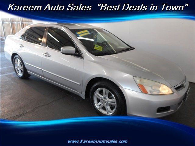 Pre-Owned 2006 Honda Accord Sdn EX w/Leather w/Navi
