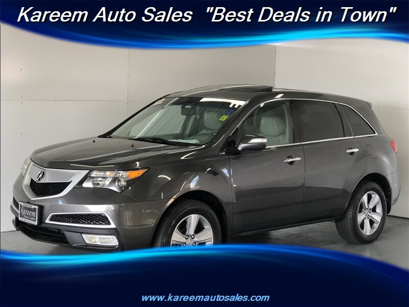 Pre-Owned 2011 Acura MDX SH-AWD