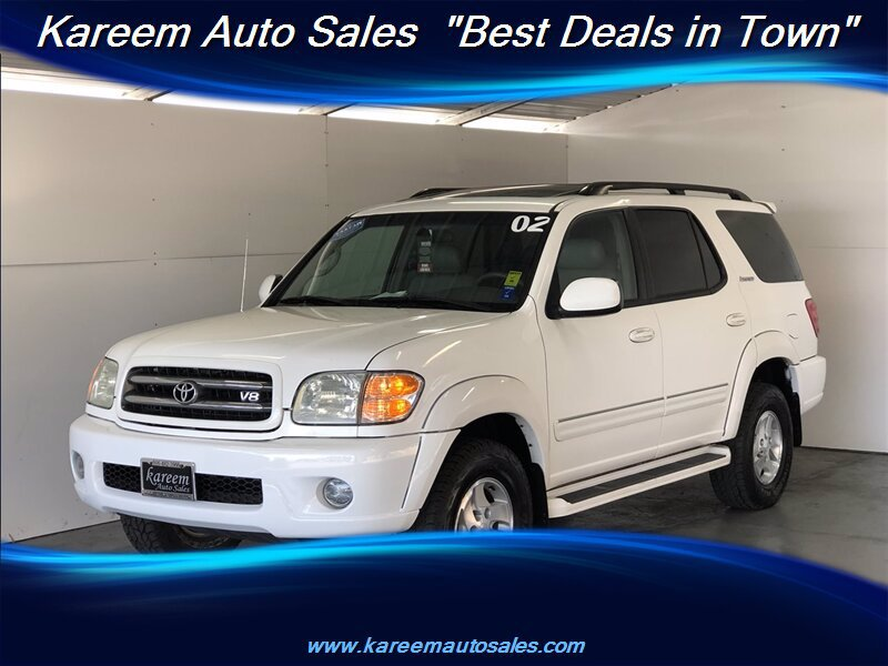 Pre-Owned 2002 Toyota Sequoia Limited
