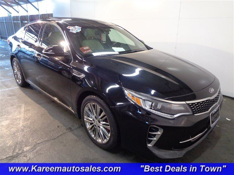 Pre Owned 2016 Kia Optima Sxl Turbo