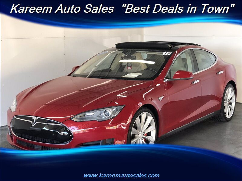 Pre-Owned 2015 Tesla Model S P90D