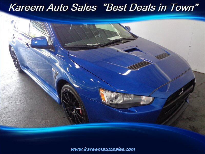 Pre-Owned 2010 Mitsubishi Lancer Evolution GSR