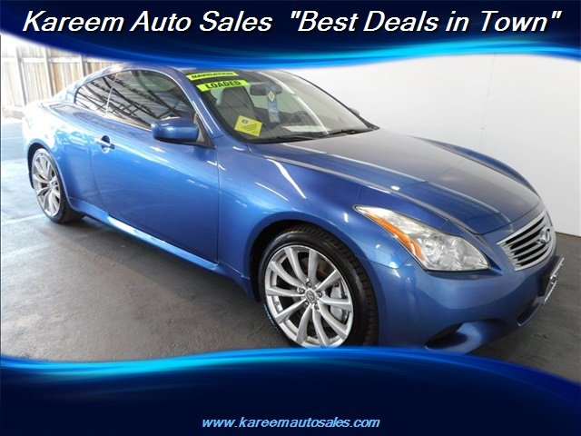 Pre-Owned 2010 INFINITI G37 Coupe Sport