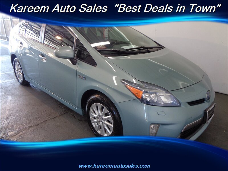 Pre-Owned 2012 Toyota Prius Plug-In Advanced