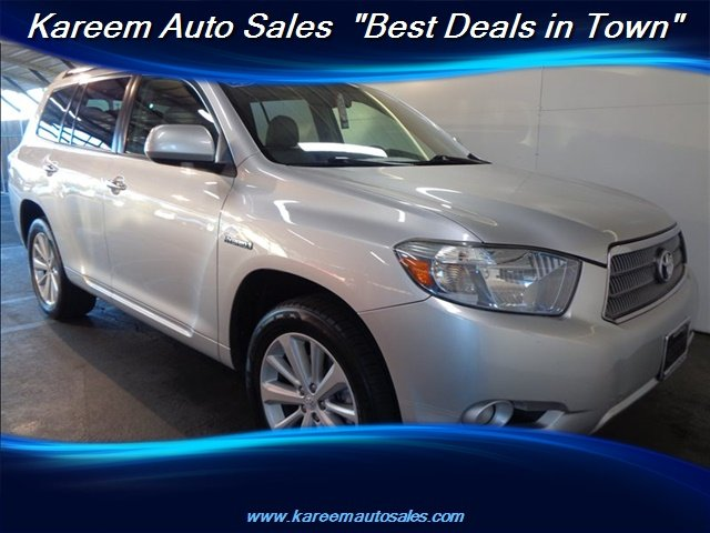 Pre Owned 2010 Toyota Highlander Hybrid Limited W 3rd Row