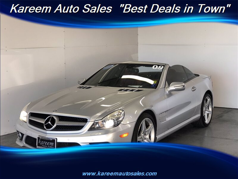 Pre-Owned 2009 Mercedes-Benz SL-Class V8