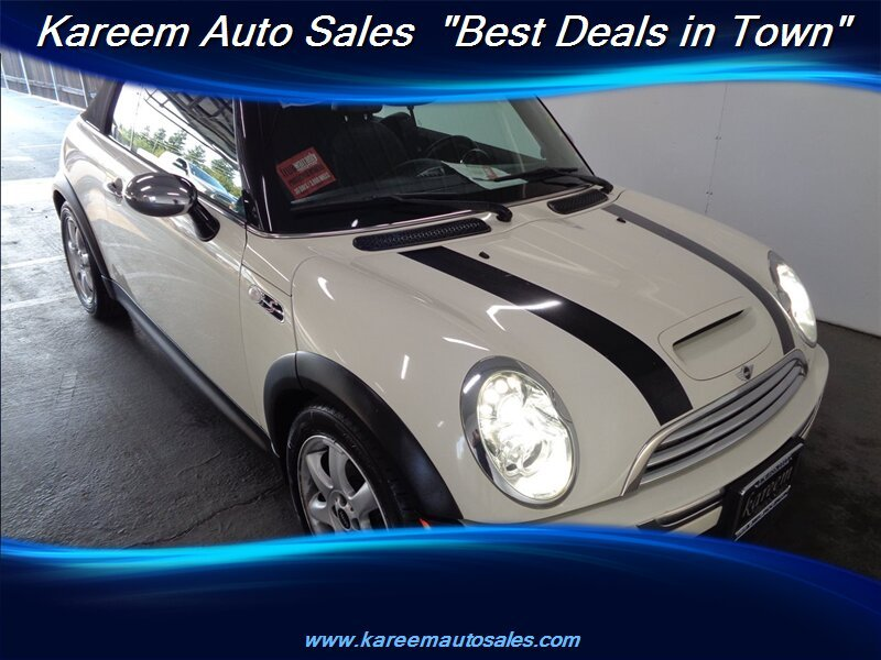Pre-Owned 2008 MINI Cooper Convertible S