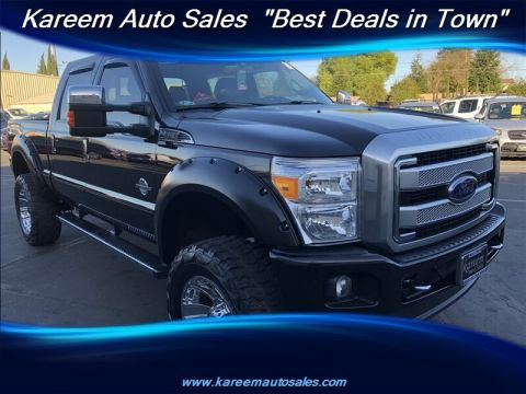 Pre-Owned 2014 Ford Super Duty F-250 SRW Super Duty Platinum