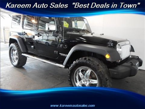 Pre-Owned 2011 Jeep Wrangler Unlimited