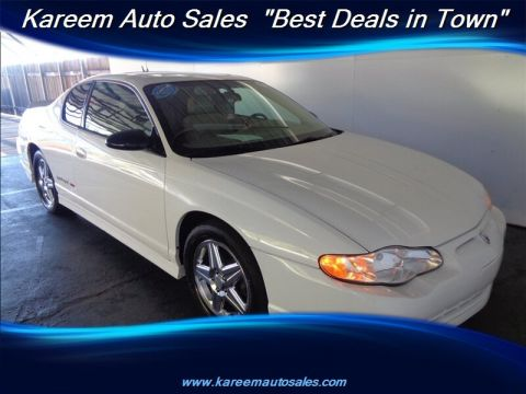 Pre-Owned 2005 Chevrolet Monte Carlo Supercharged SS