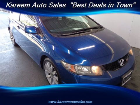 Pre-Owned 2010 Honda Civic Cpe Si