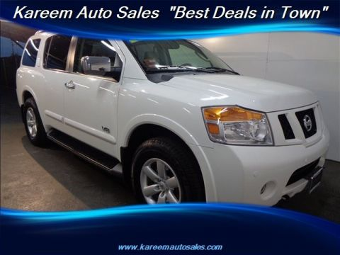Pre-Owned 2008 Nissan Armada SE