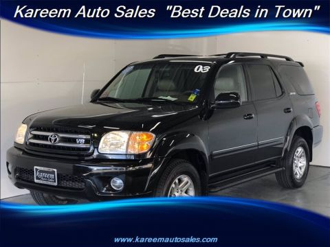 Pre-Owned 2003 Toyota Sequoia Limited