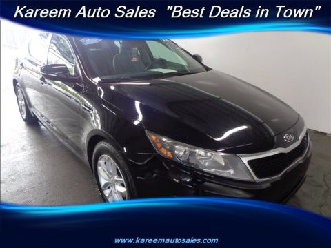 Pre-Owned 2012 Kia Optima LX