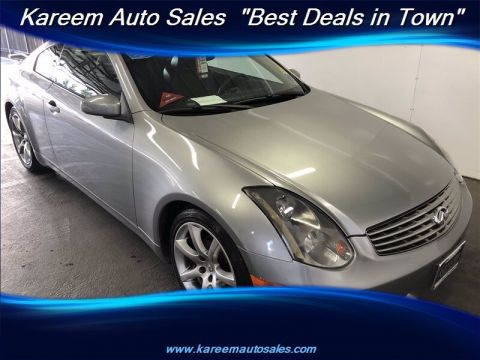 Pre-Owned 2004 INFINITI G35 Coupe