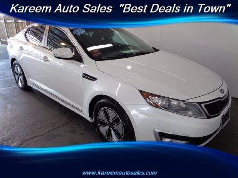 Pre-Owned 2012 Kia Optima Hybrid