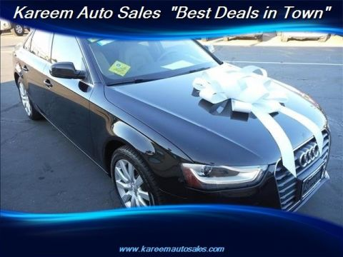 Pre-Owned 2013 Audi A4