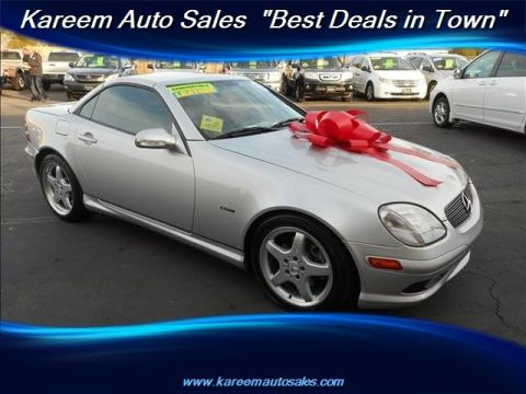 Pre-Owned 2002 Mercedes-Benz SLK