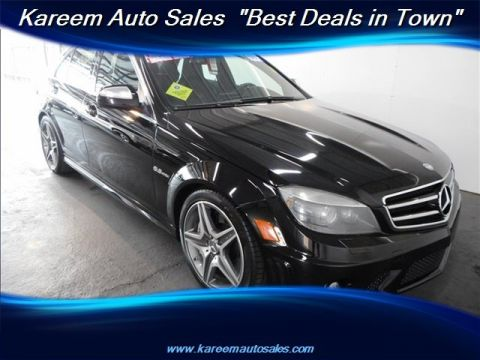 Pre-Owned 2009 Mercedes-Benz C-Class 6.3L AMG®