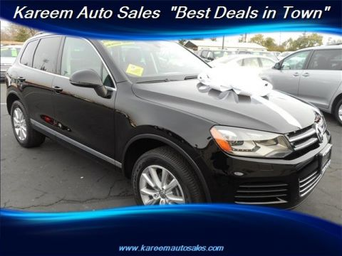 Pre-Owned 2013 Volkswagen Touareg